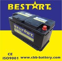 Good starting performance mf truck auto batteries sizes 60038MF/12V100Ah