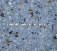 Specializing in the production gray terrazzo glass chips