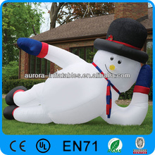 inflatable Christmas decoration supplies 2.4m snowman inflatable christmas snowman