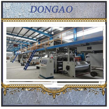 Double wall 3 layer 5 layer 7layer high speed corrugated paperboard production line for carton box forming machine