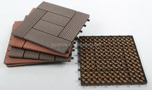 WPC composite diy basketball court wood flooring / WPC recycled wood plastic plank / WPC diy floor tiles