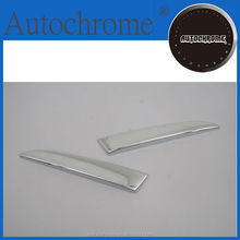 Factory price car auto exterior car accessory chrome rear windscreen trim decoration Set for F ord Escape K uga 2013 Up