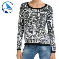 new fashion women winter clothes with jacquard design GUOOU 21