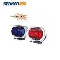Senken police vechile use 100W motorcycle with lighting alarm siren speaker