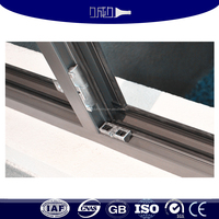 Corrosion resistant aluminum window screen extrusions