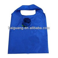 2014 Eco friendly promotion polyester foldable bag
