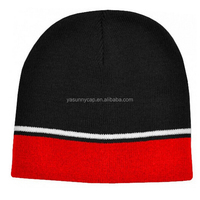2015 Fashionable design custom cotton knitted beanie