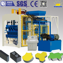 strict quality supervision Europe makret customized hydraulic paving QT10-15 brick machine in indonesia