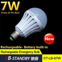 2015 High quality led emergency bulb Rechargeable led bulb 5W/7W/9W/12W for house emergency power cut