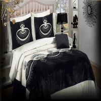 black and white bedding set culture custom include comforter set