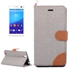alibaba china manufacturer leather flip mobile phone case accessories for Sony Xperia C4