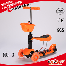 HOT new CE approved no welding two front wheels dirt scooter made in China