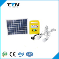 Hote Sale Home Use Off- grid 10W Home Solar Panel Systems