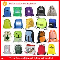 custom wholesale promotion drawstring bag