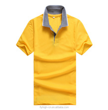 Cheap customize promotional personalized knitted 100% Cotton Plain Men Polo Shirt