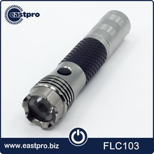 Multi function rechargeable flashlight