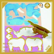 3D wholesale jigsaw puzzles manufacturers eva puzzle games jigsaw