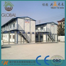 assembled prefabricated modular homes with decor,toilet