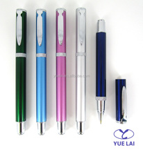 Fashion and beauty metal roller pen for gift