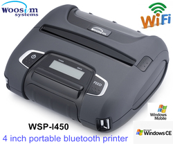 Thermal handheld pos receipt wifi/ bluetooth printer WSP-I450 support android driver