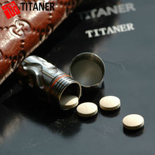 Business gift titanium portable storage cases