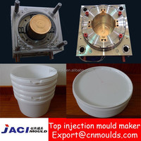 6L plastic injection paint bucket mould with factory price
