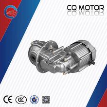 Taxi Motor / vehículo de tres ruedas Manual shift 2 speed dc Motor eléctrico sin escobillas