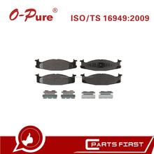 Pastillas De Freno D632 Baratos De Fábrica China Auto Partes Genuino Para Ford E-150 E-250