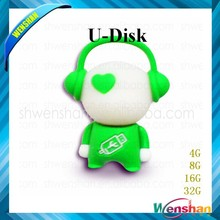 bulk cheap price, Musician shaped usb flash disk, Music Man shaped usb memory sticks