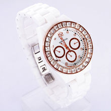 High Quality Products Ceramic White Watch
