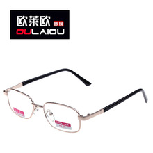 Geely old counter genuine metal frame reading glasses reading glasses 025 new HD old fashion eye