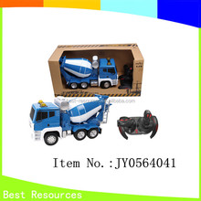 2014 new style&hot sale 5CH 1:18 remote control stone mixers car &intelligent stat&brake&auto-show function