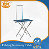 Stainless Steel Portable Dog Grooming Table MZ72A pet grooming table folding table