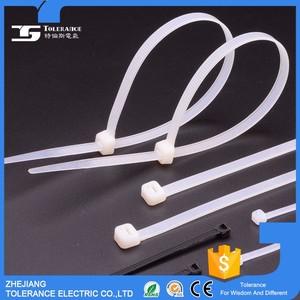 عالية القوة مصنع توريد عالية الشد الذاتي قفل النايلون الكابل التعادل المورد