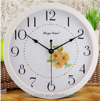 New Quartz wall clock with country and fresh style