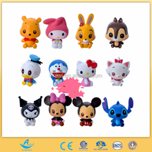 cartoon animal rabbit cat fox bear duck mouse figure toy mini doll anime figure toy USA figure toy
