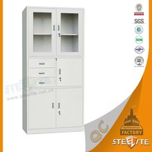 Steel Office Furniture Tall Cabinet with Drawers / Cheap Metal Filing Cabinet