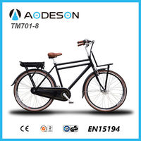 Cargo Bike TM701-8 with Front Rack, Chinese Bikes with Electric Bicycle 700c Wheel Kit