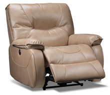 Okin leather recliner chair
