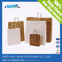 top quality eco friendly hot sale kraft paper bag
