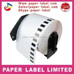 50 rolls Brother Compatible DK-22205 Labels 62mm*30.48M Continuous label free send 3 pcs Frame