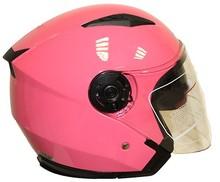 Double visor open face helmet motorcycle helmets