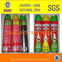 Water based aerosol insecticide/ mosquito killer spray