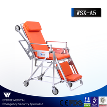 Automatic loading stretcher;first-aid device;medical equipment;ambulance modifacation; multi-level fixed top stretcher