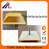 100*100mm Double side yellow color reflector road stud