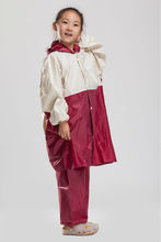 School kids shoe cover rain coat,hooded raincoat for boys and girls with cute cartoon print