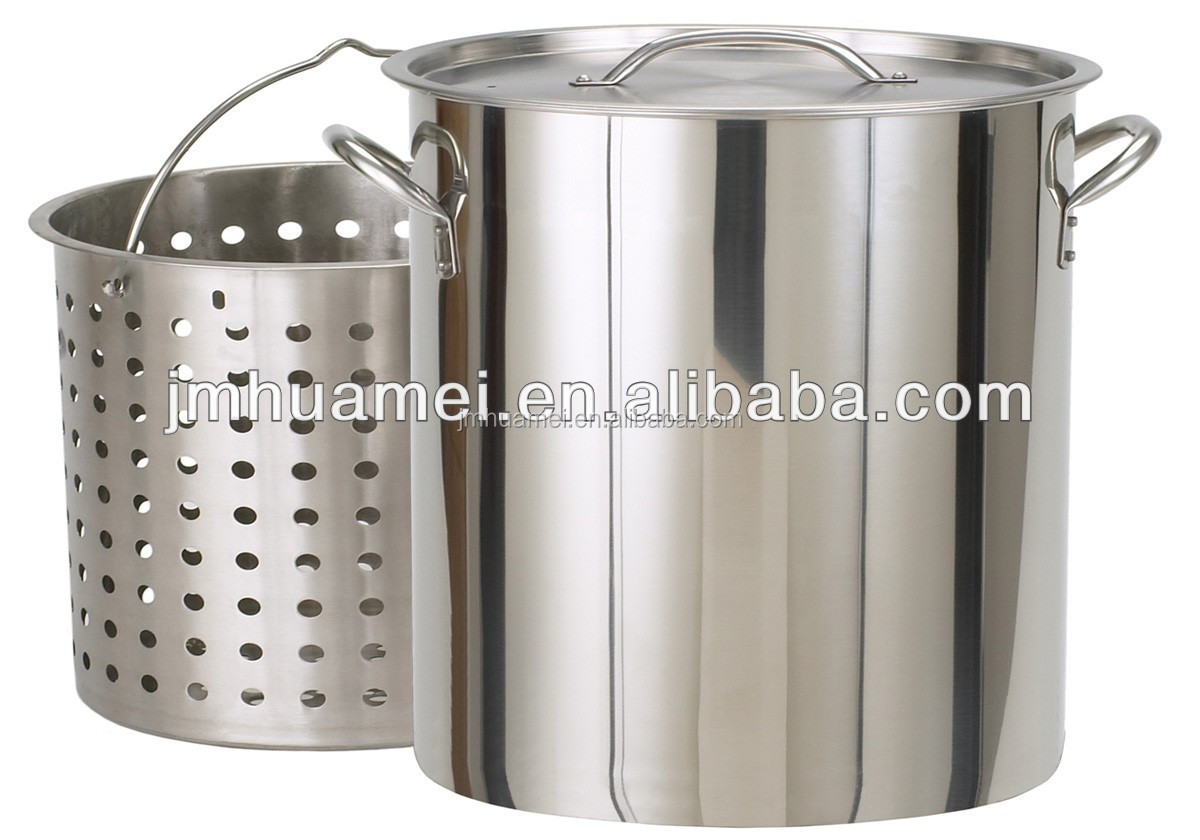 how to add a spigot to a stainless steel pot