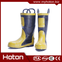 Plastic protective boots for firefighters with CE certificate
