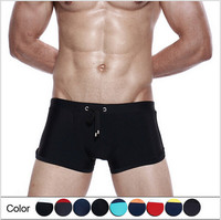 Men swim trunks quality swimwear nylon swim trunks 2014