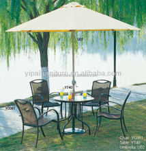 garden used coffee shop table and chairs(YC091,YT40)